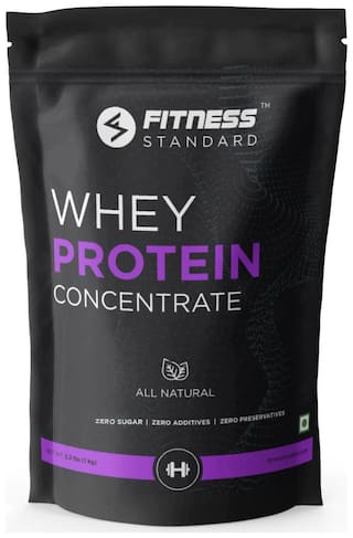 Fitness Standard Whey Protein Concentrate 1Kg