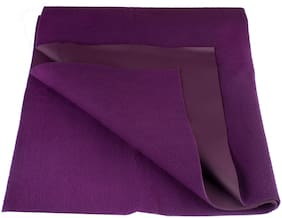 Flo-Rite Water Proof And Reusable Mat/Mattress Protector/Absorbent Sheets - Purple (Pack Of 1)