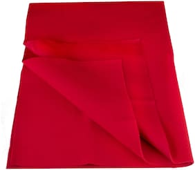 Flo-Rite Water Proof And Reusable Mat/Mattress Protector/Absorbent Sheets - Red (Pack Of 1)