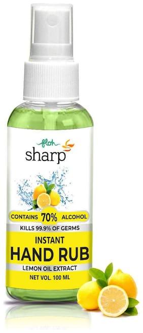 FLOH Sharp Hand Sanitizer Spray 100ML with 70% Alcohol;Lemon Oil Extract;Pocket Hand Sanitizer