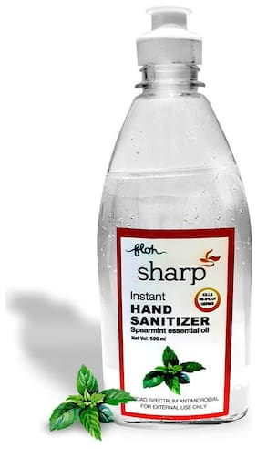 FLOH Sharp Instant Hand Sanitizer Gel based,500 ml