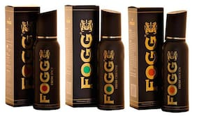 Fogg Spicy Oriental And Woody Deodorant (Pack Of 3)-For Men - 150 Ml Each