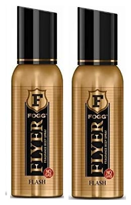 Fogg Flyer Flash Body Spray  120 ml (Pack Of 2)