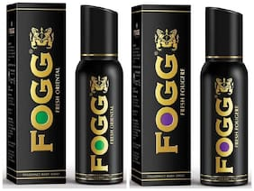 Fogg Fresh Oriental & Fougere Frangrance Body Spray - 150 ml each