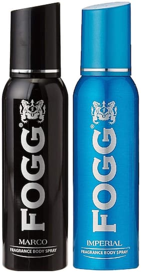 Fogg Marco 150 ml & Imperial Body Spray 150 ml (Pack Of 2)