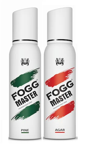 Fogg Master Pine 150ml & Agar 150ml Body Spray