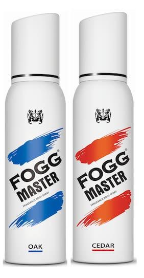 Fogg Master Oak 150ml & Cedar 150ml Body Spray