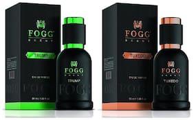 Fogg Scent Tuxedo & Trump (Pack of 2) - For Men - 50ml each