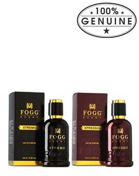 Fogg Scent Xpressio & Xtremo (Pack of 2 ) - For Men -100 ml Each