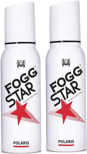 Fogg Star Polaris Frangrance Body Spray  120 ml Each