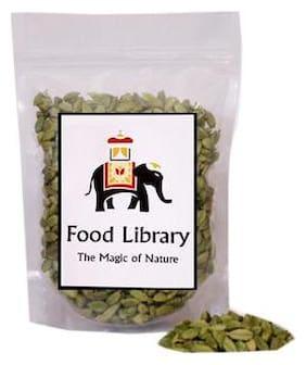 Food Library Whole Green Cardamom ( Elaichi ), 400 grams
