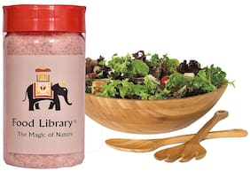 FOOD LIBRARY The Magic of Nature Natural Himalayan Pink Salt, 250g