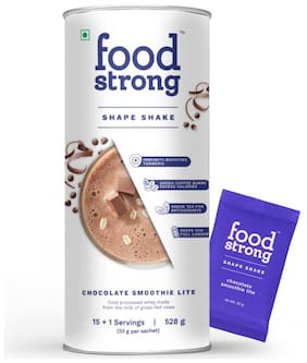 Food strong Shape Shake | Chocolate Smoothie Lite | 16 servings