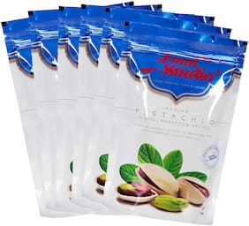 Food Studio Iranian Pistachios (Roasted And Salted Pista) Pack Of 6 (1.5 Kg.)