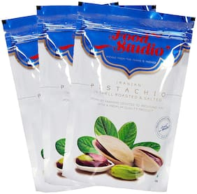 Food Studio Iranian Pistachios (Roasted and Salted Pista) Pack of 3 (750 g)