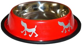 Foodie Puppies High Quality Stainless Steel Dog Food Bowl - Medium