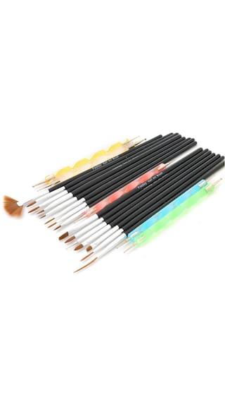 Buy Foolzy 20 Pcs Nail Art Brush Pen Foo Na A2 Online At Low
