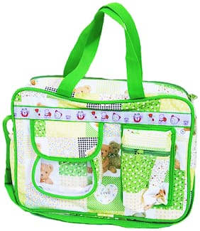 ForeTrend Baby Diaper Bag High Quality Material Green