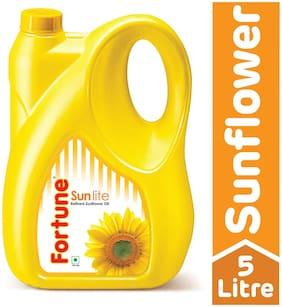 Fortune Sunflower Refined Oil - Sun Lite 5 L