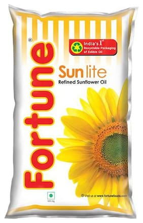 Fortune Sunflower Refined Oil - Sun Lite 1 L