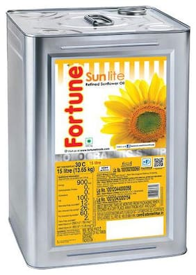 Fortune  Sunflower Oil 15 L