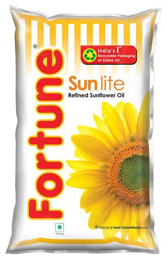 Fortune Sunflower Refined Oil - Sun Lite 910 gm