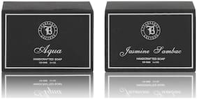 Fragrance & Beyond Aqua & Jasmine Soap Combo 125g (Pack of 2)