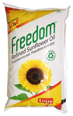 Freedom Refined Oil - Sunflower 1 L