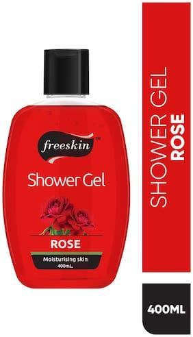 Freeskin Rose Shower Gel,400 ml (Pack Of 1)