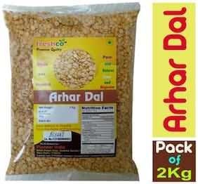 Freshco Arhar / Toor Dal 1 kg (Pack of 2)