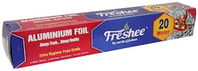 Freshee 20 ms 10.5 microns thick Aluminium Kitchen Foil Roll Pack of 1