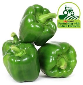 Fresho Capsicum Green 500 g