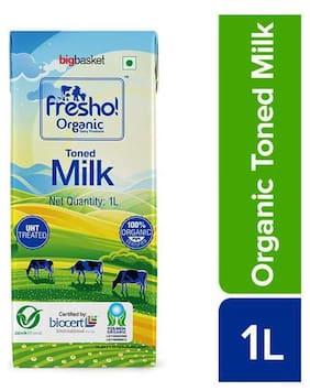 Fresho Organic 100% Certified Organic Toned milk 1 L