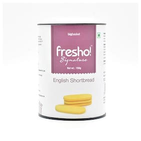 Fresho Signature English Short Bread Vanilla 150 Gm