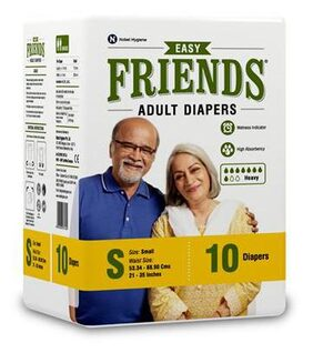 Friends Adult Diaper Easy Small 10's Pack