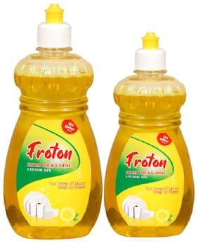 Froton Dishwash Liquid 500 ml & 250 ml Pack of 2