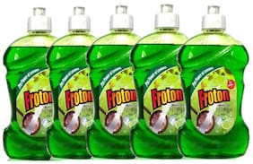 Froton Dishwash Liquid Gel 250 ml Pack of 5
