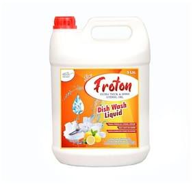 Froton Dishwash Liquid Gel 5 L ( Pack of 1 )
