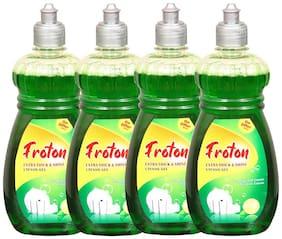 Froton Dishwash Liquid Gel 500 ml (Pack of 4)