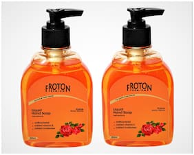 Froton Handwash Rose 250 ml(Pack of 2)
