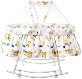 Fun Baby New Born Baby Mosquito Net Multi Color (Pack Of 1)
