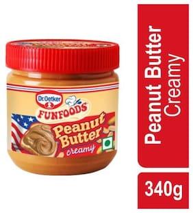 Funfoods Peanut Butter - Creamy 340 g