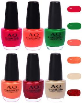 Funky Vibrant Range of Colors Nail polish