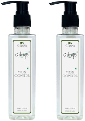 G drops Virgin Coconut Oil Combo 400ml (2 x 200ml)