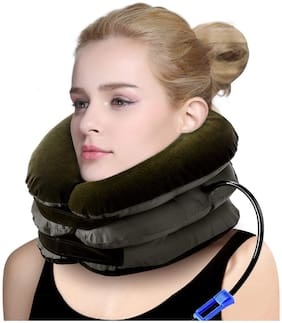 G Gapfill Air Pillow Bag Tractor Cervical Collar Neck Vertebra Traction Massager For Pain Relief Tool