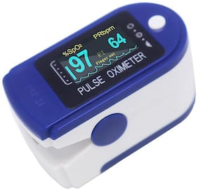 G Gapfill Pulse Oximeter Fingertip Oxygen Saturation Monitor, Spo2 And Heart Rate Monitoring With LED Display (Pack Of 1)