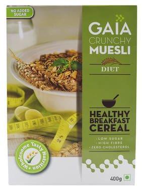 Gaia  Crunchy Muesli - Diet Breakfast Cereal 400 g
