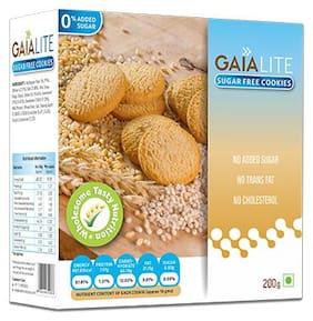 Gaia Sugarfree Cookies 200g(Pack of 2)