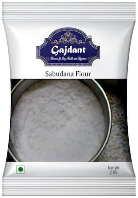 Gajdant Sago Flour/Sabudana Atta 2kg (Pack Of 1)