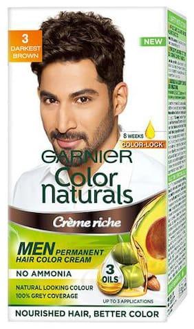 Garnier Color Naturals Men - Shade 3  Darkest Brown 67.5 g